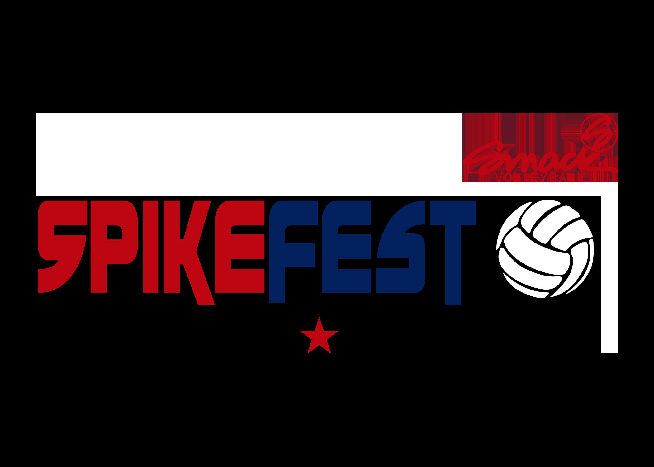 SpikeFest - Smack Big Red Logo